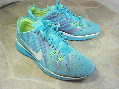 reputable site b7710 60ce2 NIKE FREE TR Fit #5 Womens Size Us 8.5 M Eur 40 Multi Clr 704695400 Running  Shoe