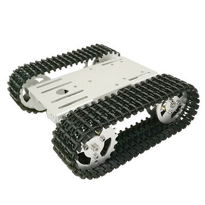 RC WiFi Smart Robot RC Car Tracked Tank Chassis Car Parts with Code Wheel