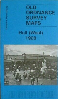 Old Ordnance Survey Maps Hull West Yorkshire 1928 Sheet 240.02 Brand New