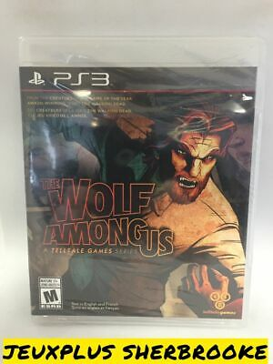 The Wolf Among Us (Sony PlayStation 3) (BRAND NEW / SEALED)
