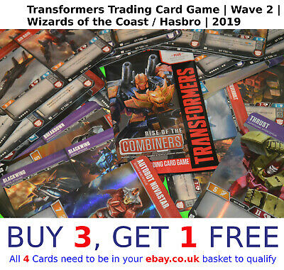 TRANSFORMERS TCG Wave 2 | Rise Of The Combiners | SELECT YOUR Character cards