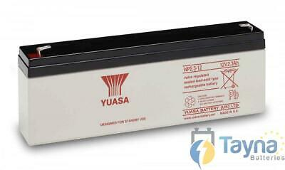 Yuasa NP2.3-12 Valve Regulated Lead Acid (VRLA) Batterie 12V 2.3Ah