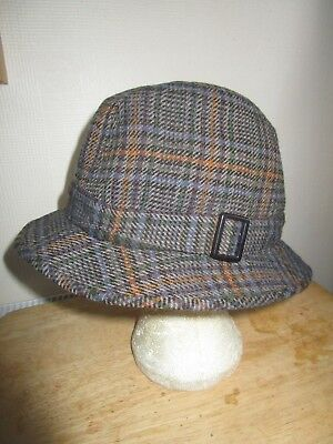 5ef45fb5f16 GLEN APPIN OF Scotland Tweed Hat Size M - £7.00