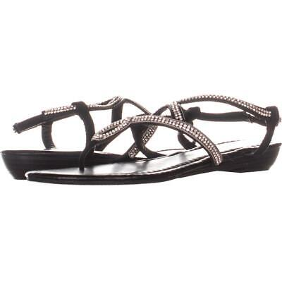 0b68a622af4 Madden Girl Trudi Flat Strappy Slip On Sandals 986