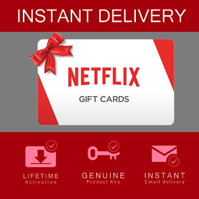 Netflix Gift Cards | ALL PRICES | GLOBAL Instant Delivery