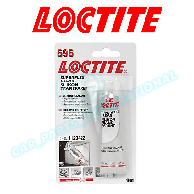 Loctite 595 Superflex Klar Silikondichtung 40ml