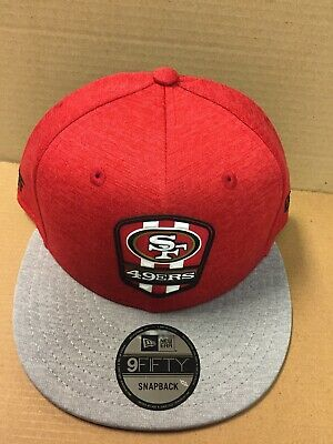 d92d8f2dc SAN FRANCISCO 49ERS New Era 2018 NFL Sideline Color Rush 9FIFTY ...