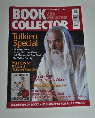 Book Collector # 238 Jan 2004 - Tolkien Special, Peter Pan at 100, Daisy Ashford