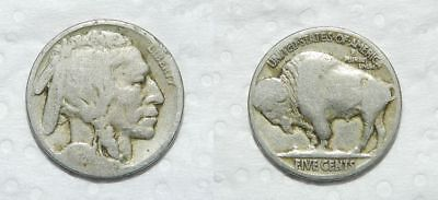 U.s.a.  Buffalo Nickel 1924