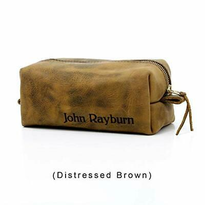 cb23cc9313 Personalized Leather Toiletry Bag