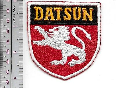Automobile Company Japan Datsun Auto late 50's to mid 60's Patch now Nissan sm