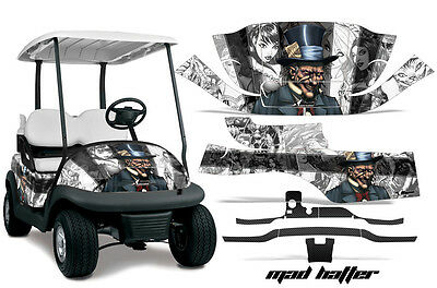 Golf Cart Graphics Kit Decal Wrap For Club Car Precedent I2 2008-2013 HATTER W K