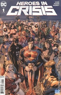 Heroes in Crisis (DC) 1A 2018 Mann Variant NM Stock Image