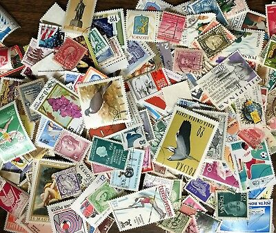 [Lot F] 500 Worldwide Stamp Collection - Good Variety!