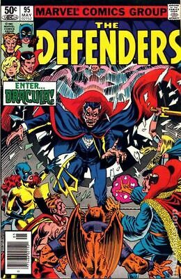 Defenders (1st Series) #95 1981 VG Stock Image Low Grade
