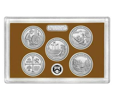 """2019 S CLAD National Park Quarters Proof Set No Box or COA ---""""IN HAND !!"""