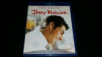 JERRY MAGUIRE BLU Ray Dvd Movie Video Film Comedy Tom Cruise Cuba Gooding Jr