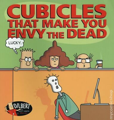 Cubicles that Make You Envy the Dead TPB A Dilbert Book #1-1ST NM