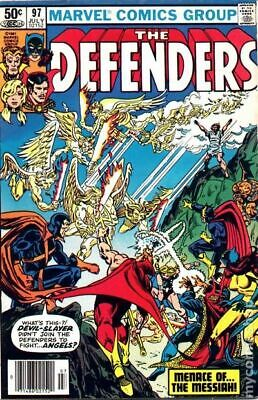Defenders (1st Series) #97 1981 VG Stock Image Low Grade