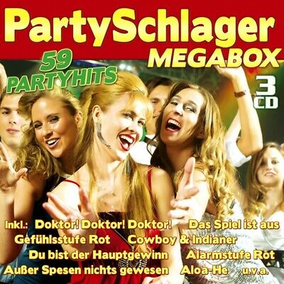Various - Die Partyschlager-Megabox CD3 Spectre Records NEW