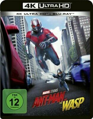 Ant-man And The Wasp 4k Uhd Edition [DE-Version, Regio 2/B] - Blu Ray Disne NEW