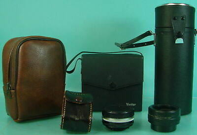 6 Vivitar Lenses & Camera Photography Auto 2x Custom Tele-Converter Picture