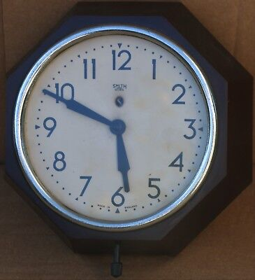 Lovely Looking Old Bakelite Smiths Sectric Wall Clock