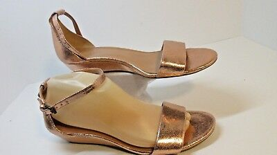 d4685942efd J Crew Factory Womens D orsay Flats Open Toe Ankle Strap Size 9.5 Style  C1177