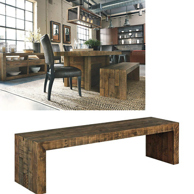 Cool Reclaimed Wood Dining Bench Large Kitchen Rustic Farmhouse Spiritservingveterans Wood Chair Design Ideas Spiritservingveteransorg