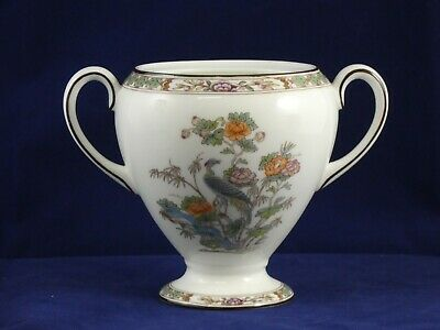 Wedgwood Bone China Kutani Crane R4464 Sugar Bowl NO Lid