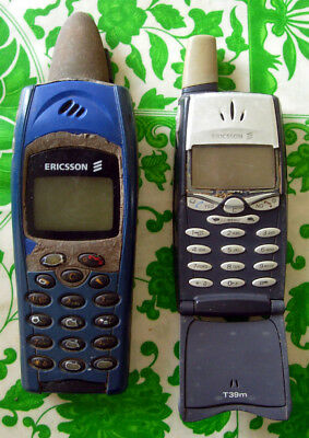 LOT x2 Sony ERICSSON R310s + T39m Handy Mobile Cell Phone NOT working FOR parts