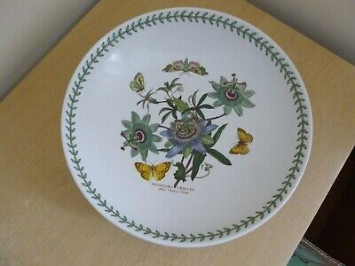 "Portmeirion Botanic Garden 13"" Bowl - Blue Passion Flower - Vintage"