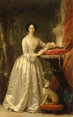 Maria Alexandrovna of Russia by C.Robertson Handmade Oil Painting repro