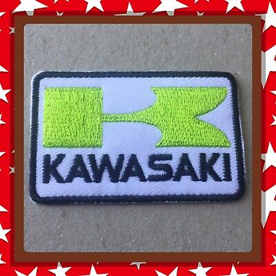 🇨🇦 Kawasaki Embroidered Patch  Sew On/stick On Clothing/new 🇨🇦