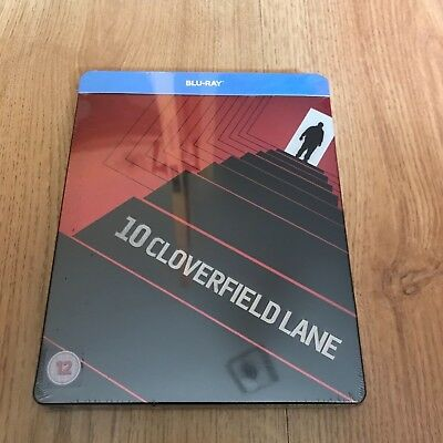 10 Cloverfield Lane Blu Ray Steelbook Brand New and Sealed