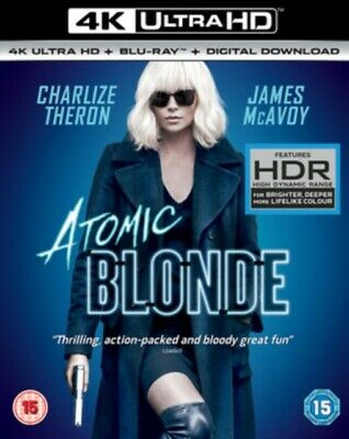 Atomic Blonde 4K Uhd+Blu Ray+Digital Dwn