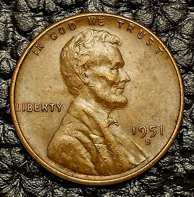 1950-S Lincoln Wheat Cent in XF EF Condition ~ $20 ORDERS SHIP FREE!