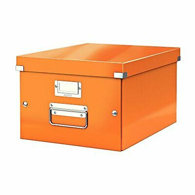 LEITZ Ablagebox Click & Store WOW, DIN A4, orange