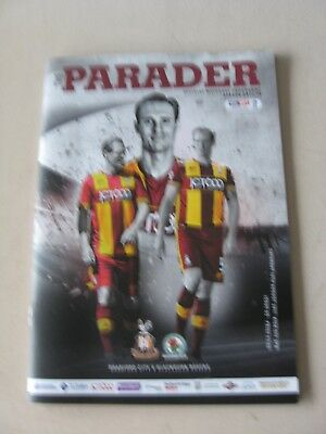 2017-18 Bradford City v Blackburn Rovers League One 19.8.2017
