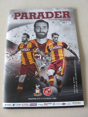 2017-18 Bradford City v Fleetwood Town League One 26.9.2017
