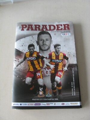 2017-18 Bradford City v Northampton Town League One 13.1.2018