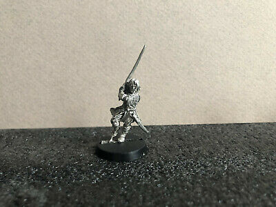 ARAGORN LEGOLAS GIMLI BOROMIR - Three Hunters Defenders of Rohan Metal LOTR