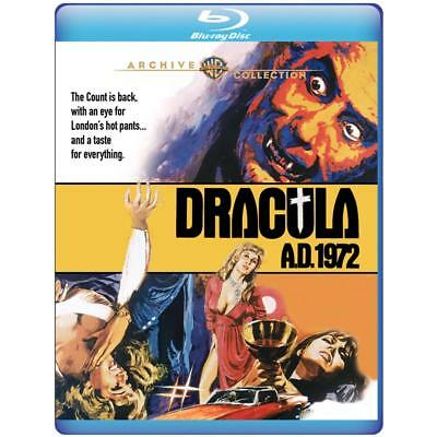 Dracula A.D. 1972 BLU RAY HORROR Christopher Lee Peter Cushing Stephanie Beacham