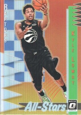 2018-19 Donruss Optic All-Stars Holo #16 Kyle Lowry Toronto Raptors