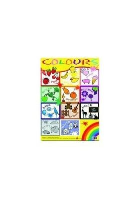 Colours Wallchart: Small Format, New Books
