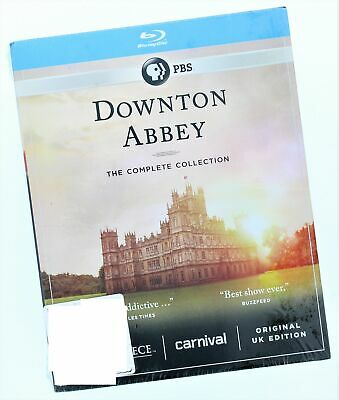 """Downton Abbey The Complete Collection Blu-Ray """"Instantly Addictive"""""""