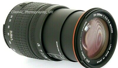 SIGMA Aspherical Hyperzoom 28-200mm 1:3.5-5.6 MACRO Aspherical IF Lens for NIKON