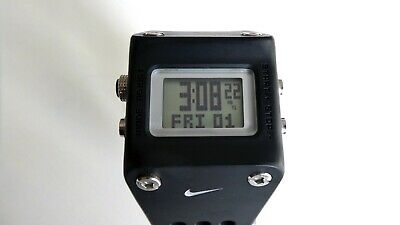 60f96c479c237 NIKE WC0045 CHISEL Watch Black - Excellent Condition. New Battery ...