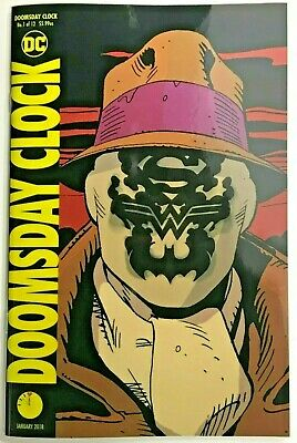 Doomsday Clock#1 Nm 2017 Lenticular Cover Dc Comics
