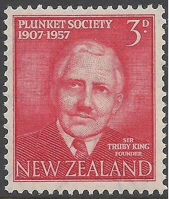 New Zealand 1957 PLUNKET SOCIETY Unhinged Mint SG760